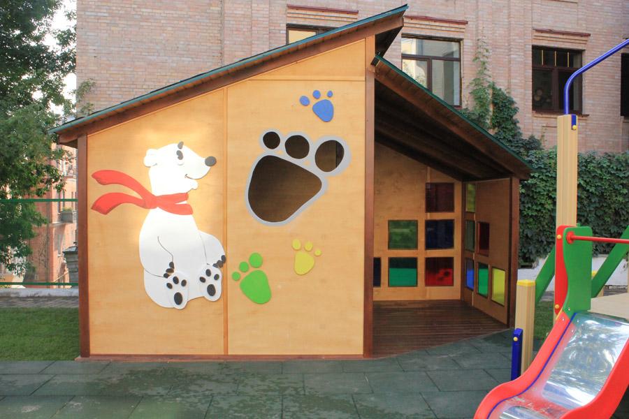 Как украсить павильон в детском саду в стиле музыкальный